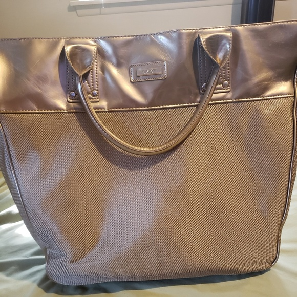 super quality reliable quality famous brand Versace Parfums Gold Large tote bag